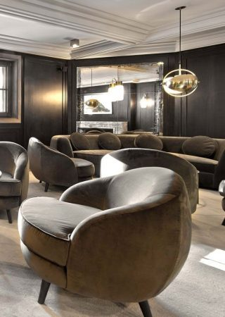 Relax at the L'Apogée Courchevel by India Mahdavi