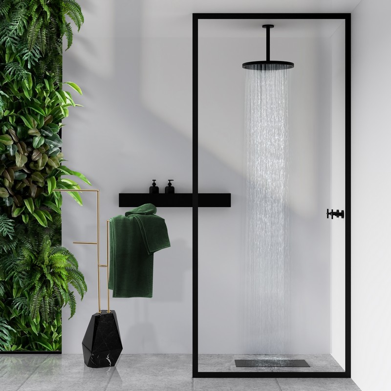 Black and White in a Luxury Bathroom: How it Looks!