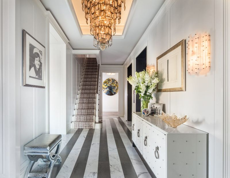 A Luxury Penthouse Embellished With Love of Jewel-Like Surfaces