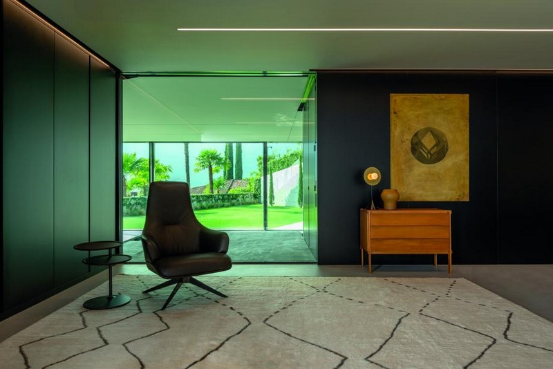 A Swiss Home Featuring Pieces from Vincent Van Duysen and Gio Ponti!