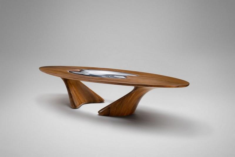 Breathtaking Dining Tables by Zaha Hadid