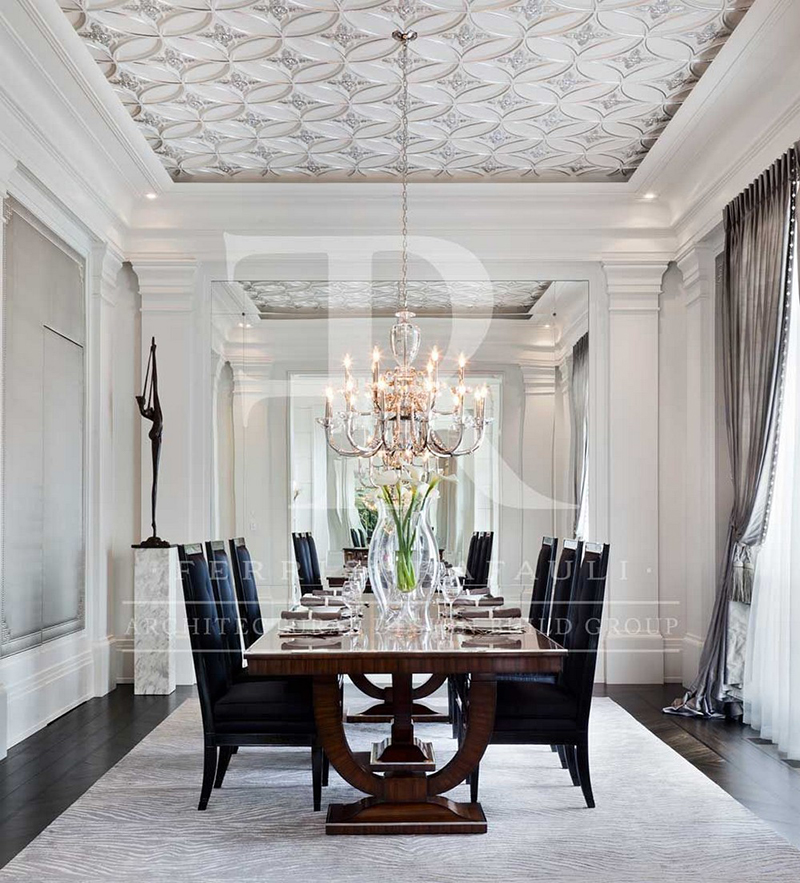 Magnificent Dining Rooms with Ferris Rafauli