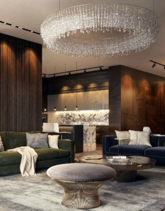 Luxury Earth Toned Apartment In Russia Designed By Studia-54