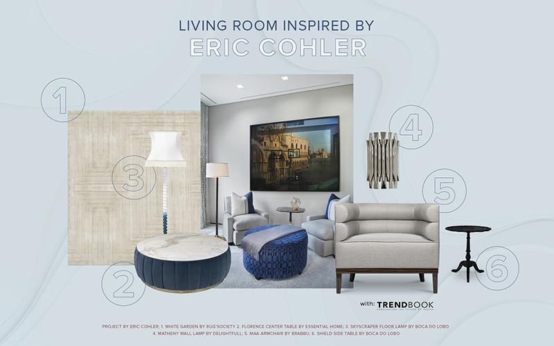 ERIC COHLER: ASTONISHING LIVING ROOM IDEAS