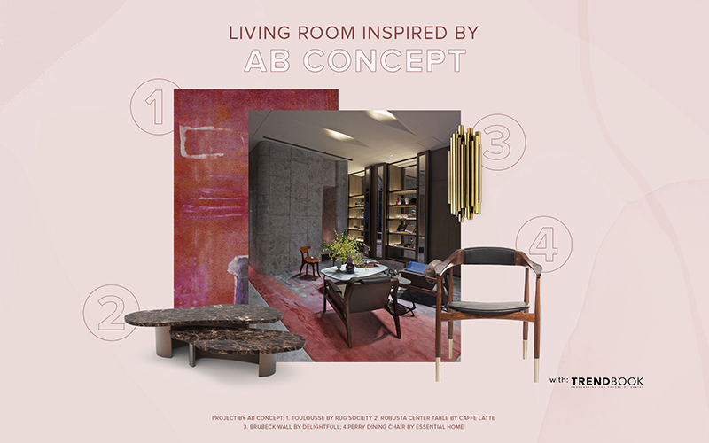 Living Room Inspired by the Innovative Ab Concept